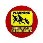 "Undocumented Democrats 3.5"" Button (100 pack)"