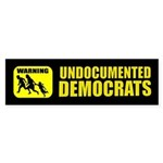 Undocumented Democrats Sticker (Bumper)