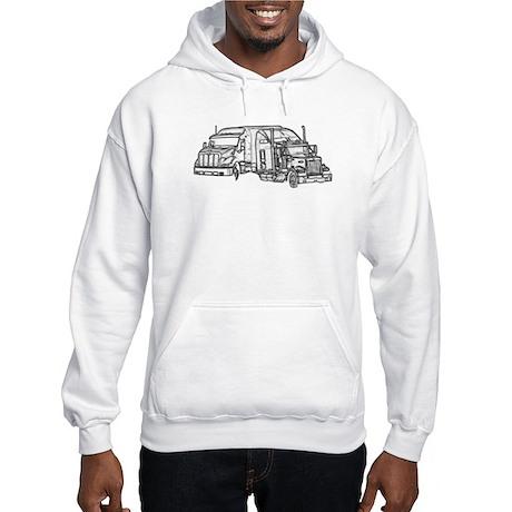 America Stops Hooded Sweatshirt