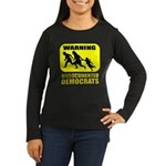 Undocumented Democrats Women's Long Sleeve Dark T-