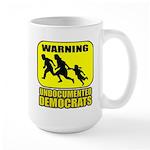 Undocumented Democrats Large Mug