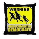 Undocumented Democrats Throw Pillow
