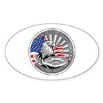 United in Memory Oval Sticker