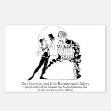 Romeo & Juliet -  Postcards (Package of 8)