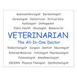 Veterinarian TheAllInOneDoctor Small Poster