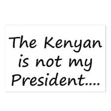 Kenyan Prez Postcards (Package of 8)
