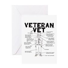 Veteran Vet Male Greeting Card