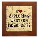 Exploring Western Mass. Framed Tile