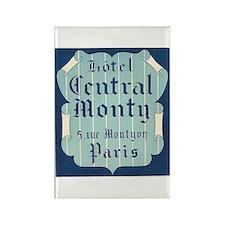 Hotel Central Monty Paris Rectangle Magnet