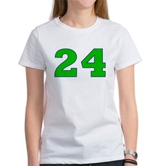 Twenty-four Green/Blue Tee