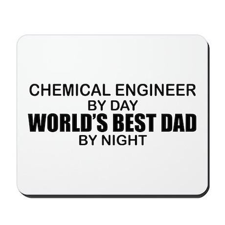 World's Best Dad - Chem Eng Mousepad