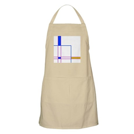 Modern Plaid BBQ Apron