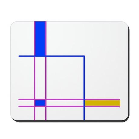 Modern Plaid Mousepad