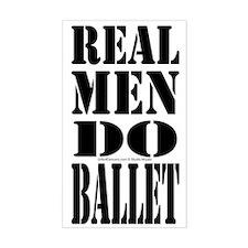 Real Men Do Ballet Decal
