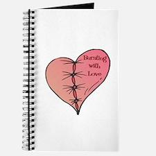 Bursting With Love Heart Journal