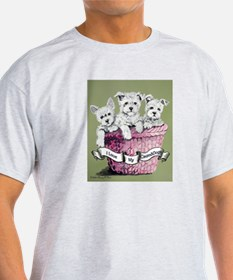 GrandDogs!!! Ash Grey T-Shirt