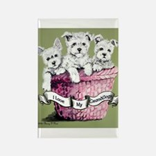 GrandDogs!!! Rectangle Magnet (100 pack)