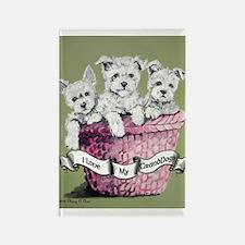 GrandDogs!!! Rectangle Magnet (10 pack)