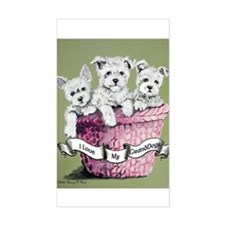 GrandDogs!!! Rectangle Decal
