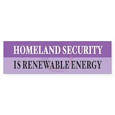 Homeland Security Bumper Bumper Stickers
