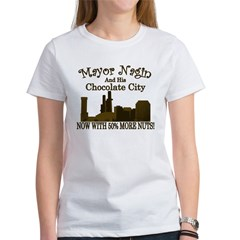 Nagin's Chocolate City (w/nuts) Women's T-Shirt