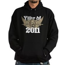 Year of 2011 Winged Lion Hoodie