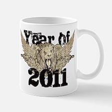 Year of 2011 Winged Lion Mug