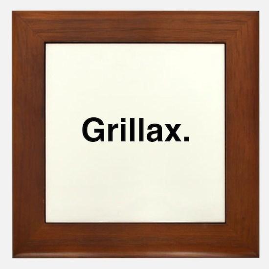 Grillax Framed Tile