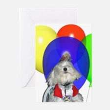 Birthday Party Greeting Cards (Pk of 10)