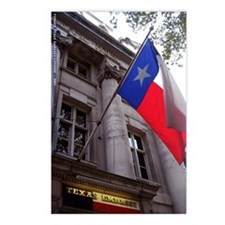 Texas Embasy in London Postcards (Package of 8)