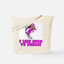 Born to Board Emma Tote Bag