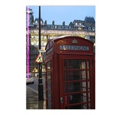 London Phonebooth Postcards (Package of 8)