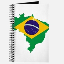 Brazil Flag/Map Journal