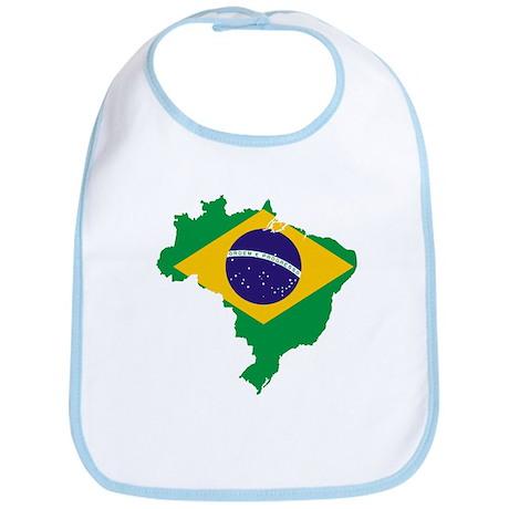 Brazil Flag/Map Bib