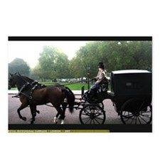 Royal Carriage Postcards (Package of 8)