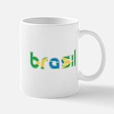 Brazil Flag in Name Mug
