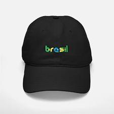 Brazil Flag in Name Baseball Hat