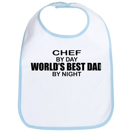 World's Best Dad - Chef Bib