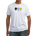 Grill Chill Fulfill Fitted T-Shirt