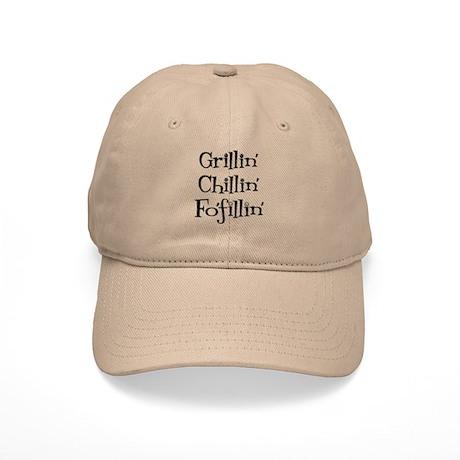 Grillin' Chillin' Fo'fillin' Cap