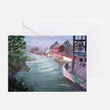 """""""Workboats at Rest"""" Greeting Cards (Pk of 10)"""