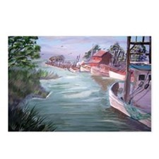 """""""Workboats at Rest"""" Postcards (Package of 8)"""