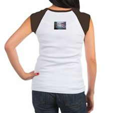 """""""Workboats at Rest"""" Women's Cap Sleeve T-Shirt"""