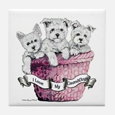 GrandDogs!!! Tile Coaster