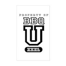 BBQ U Decal