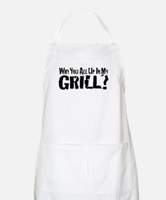 All Up In My Grill Apron