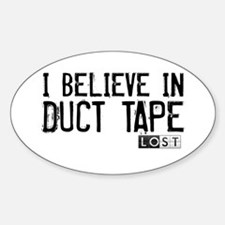 I Believe In Duct Tape Decal