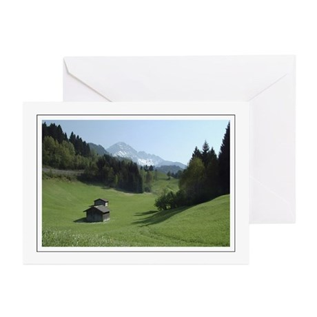 Austrian Alps Greeting Cards (Pk of 10)