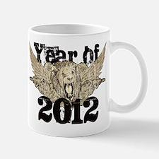 Year of 2012 Winged Lion Mug