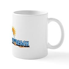 Wrightsville Beach NC - Waves Design Mug